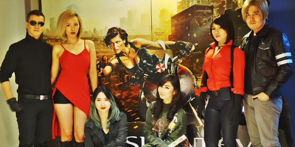 Alodia & Ashley Gosiengfiao Take Part in Resident Evil: The Final Chapter