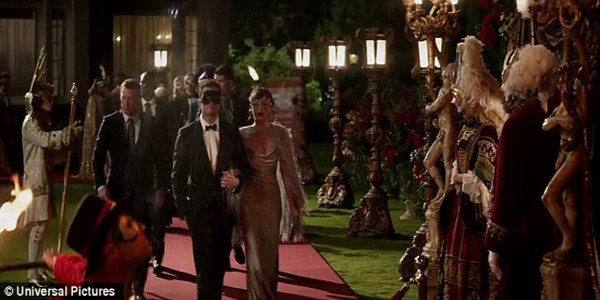 "Lavish, Sensuous Masquerade Ball at Centerpiece of ""Fifty Shades Darker"""