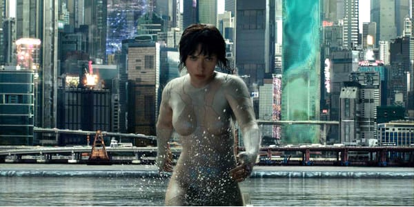 WATCH: New 'Ghost in the Shell' Trailer Reveals Stunning Visuals