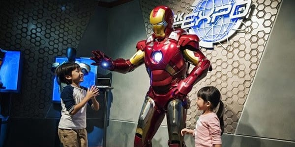 Hey, Iron Man fans: the only Marvel-themed ride in the world is in Hong Kong!
