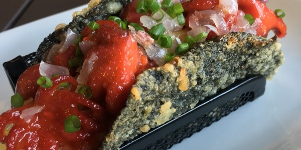 Eat of the Week: Taco Meets Sushi in the 'Noritaco' by Torch Restaurant