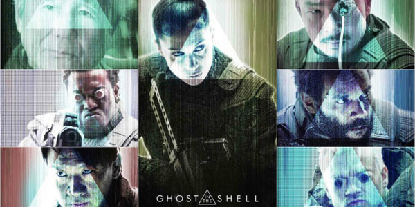 Members of Section 9 in Ghost in the Shell Revealed