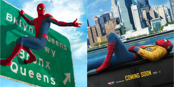 """""""Spider-Man: Homecoming"""" Reveals More Teaser One-Sheets"""