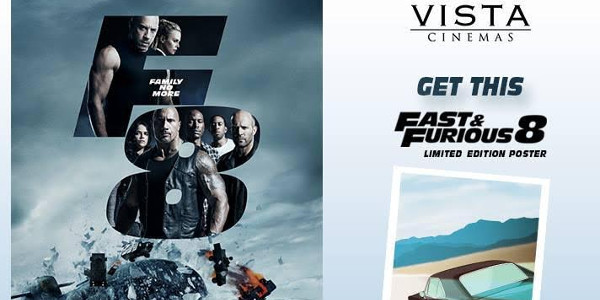 vista cinemas to extend operating hours for fast and furious 8 clickthecity movies. Black Bedroom Furniture Sets. Home Design Ideas