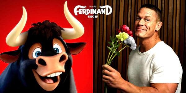 WATCH: Wrestling Superstar John Cena is a Friendly Bull in Blue Sky Studios' 'Ferdinand'
