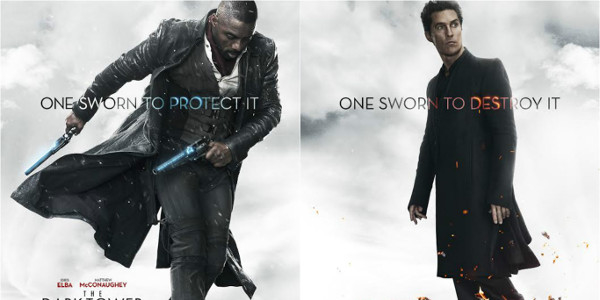 """Elba, McConaughey in Opposing Posters for """"The Dark Tower"""""""