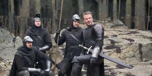 "David Beckham Appears in a Cameo in New ""King Arthur"" Film"