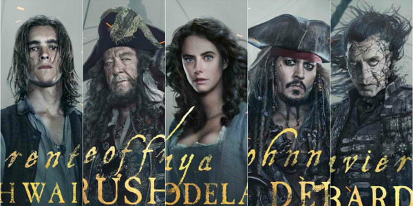 """All Hands on Deck for """"Pirates of the Caribbean: Salazar's Revenge"""""""