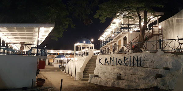 Now Open: Kantorini, a New Santorini-Inspired Food Park in Katipunan