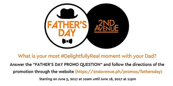 A #DelightfullyReal Father's Day with 2nd Avenue