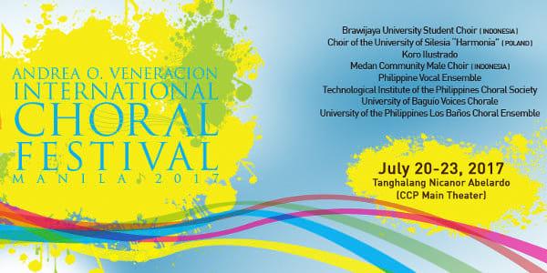 3rd Andrea O  Veneracion International Choral Fest Set in