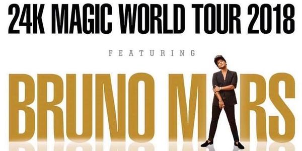 ICYMI: Bruno Mars is Bringing His 24K Magic World Tour to Manila Next Year!