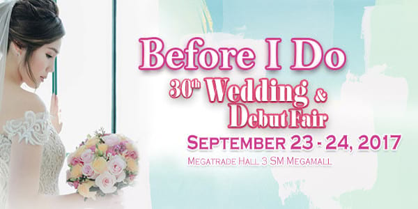 Before I Do - 30th Wedding & Debut Fair