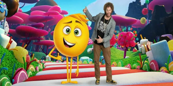 T.J. Miller, Voice of Emoji with Every Expression in The Emoji Movie