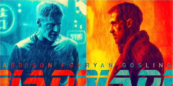 """Gosling, Ford Get """"Blade Runner 2049"""" Character Posters"""