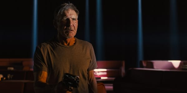 "Harrison Ford Revisits Rick Deckard Role in ""Blade Runner 2049"""