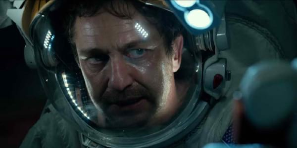 "Gerard Butler Takes Charge Averting ""Geostorm"" Threat"