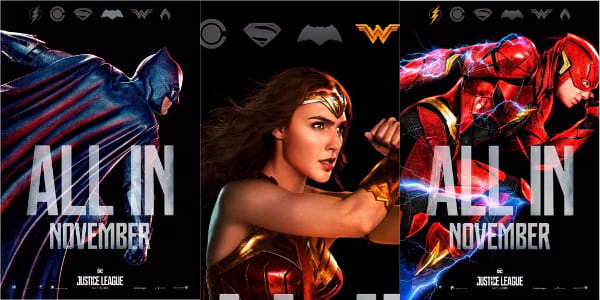 """Justice League"" Action Series Posters Revealed, New Trailer This Sunday"