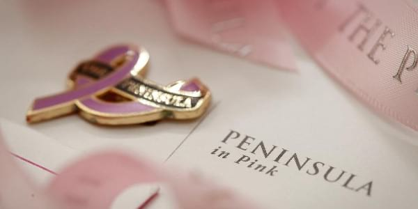 The Peninsula Manila's Peninsula in Pink Campaign for Breast Cancer Awareness