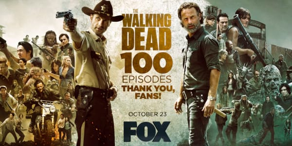 The Walking Dead Celebrates 100th Episode in Asia