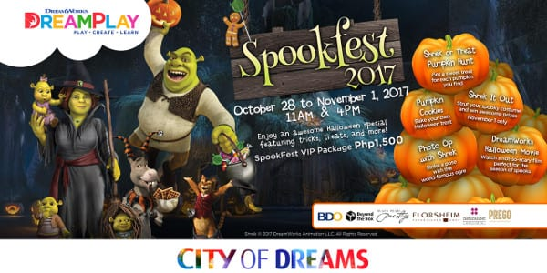 DreamPlay Spookfest at City of Dreams Manila