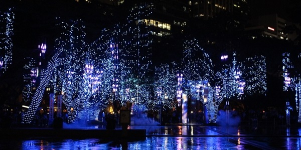 The Festival of Lights at the Ayala Triangle Gardens