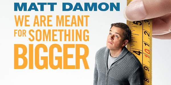 Downsizing Thinks Big for Its New Poster