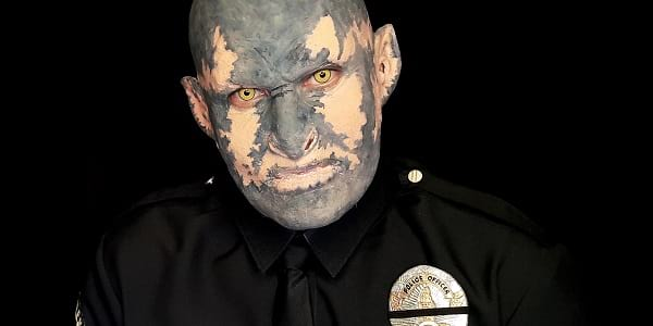 WATCH: Transform Yourself into Orc Cop Jakoby of 'Bright' with this Makeup Tutorial