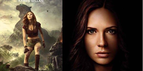 """Karen Gillan, from """"Guardians of the Galaxy"""" to """"Jumanji"""""""