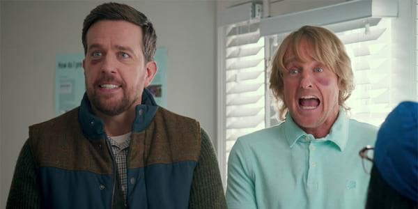 Wilson, Helms Go on a Roadtrip in Search of Dad in Father Figures