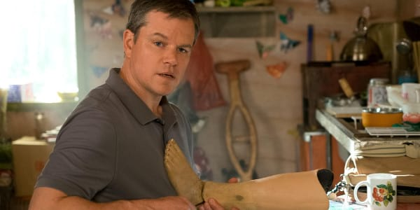 "For Matt Damon, Idea for ""Downsizing"" is Larger-Than-Life"