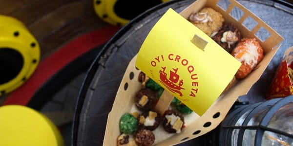 'Oy Croqueta' is Now Serving Paella Croquettes with a Filipino Twist