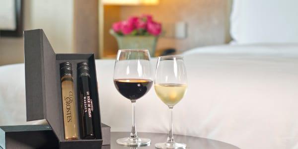Sweet February Stays at New World Makati Hotel