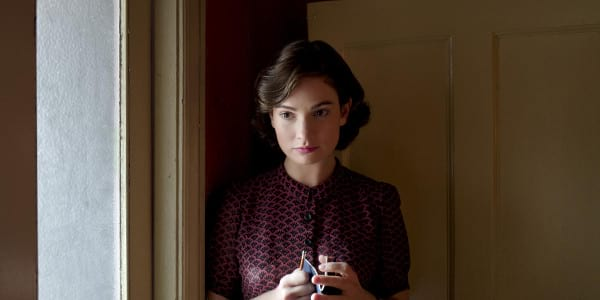 """Lily James Showcases Dramatic Prowess in """"Darkest Hour"""""""