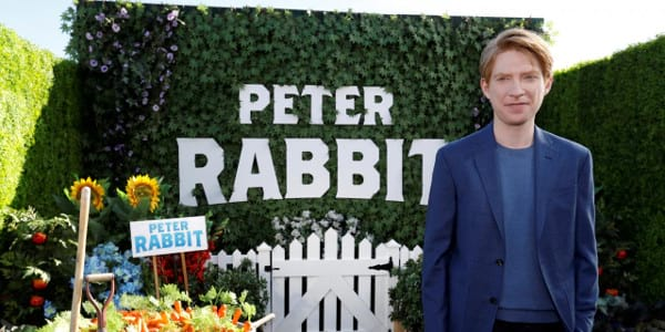 """Domhnall Gleeson Meets His Match in """"Peter Rabbit"""""""