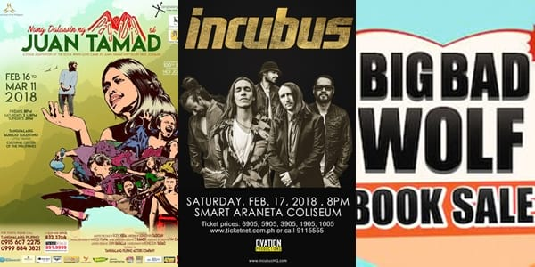 Weekender Guide: February 16, 17, and 18, 2018