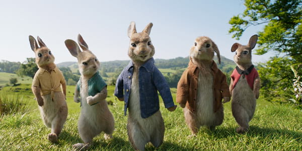 Life-Like Animation Tricks the Eye in Peter Rabbit