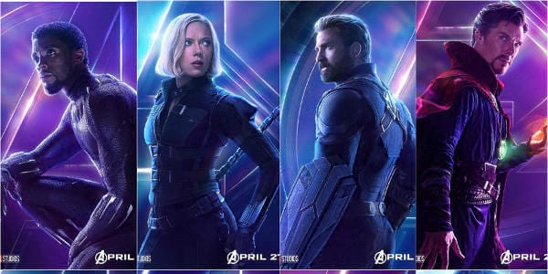 "New ""Avengers: Infinity War"" Character Posters Spotlight Earth's Mightiest Heroes"