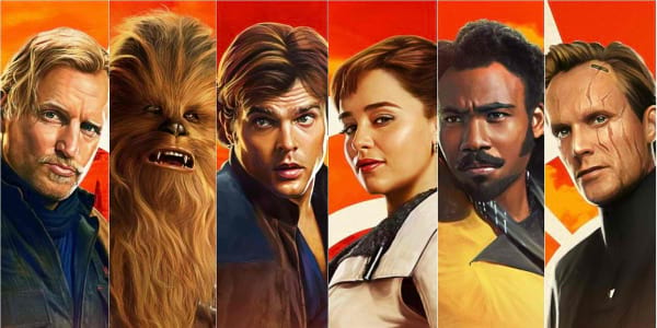 "New Character Banners Unveiled for ""Solo: A Star Wars Story"""