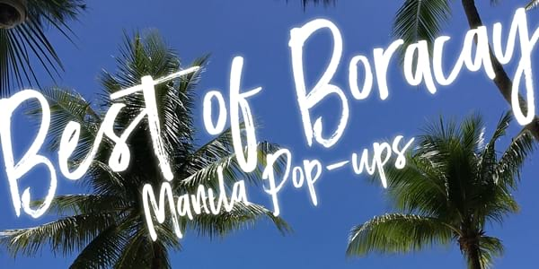Boracay's Best Restaurants are Opening Pop-Ups in Manila!