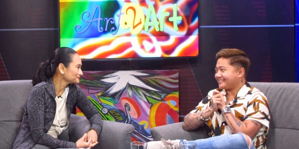 Jake Zyrus guests in 'Art 2 Art'