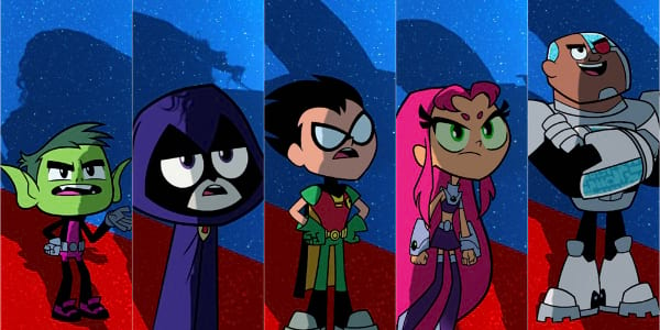 Teen Titans Get Their Own Posters as They Go! to the Movies