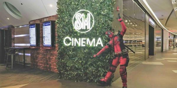 Deadpool Army invades SM Cinema!