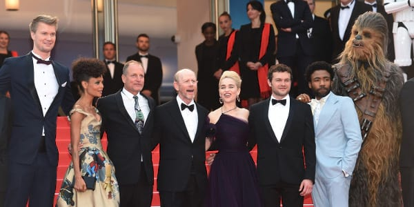 """Cast of """"Solo: A Star Wars Story"""" Invades Cannes"""