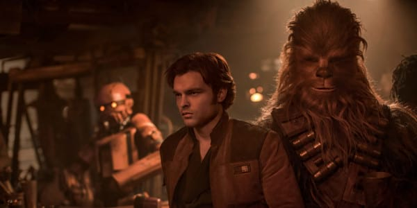 Brothers-In-Arms: Han Meets Chewie for the First Time in Solo: A Star Wars Story