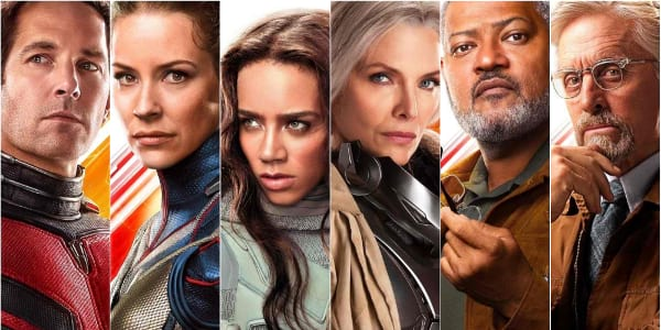 """Ant-Man and the Wasp"" Character Posters Spotlight Real Heroes, Not Actual Size"