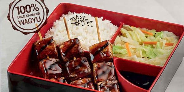 Taste Premium Flavours in Tokyo Tokyo's New Wagyu Cubes Bento