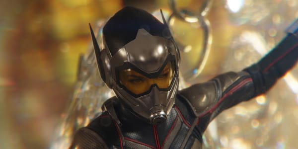 "Evangeline Lilly is Ready for Action as Hope Van Dyne in ""Ant-Man and The Wasp"""