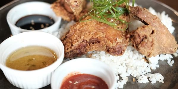 Eat of the Week: This Crispy Hainanese Chicken Rice, Because We All Love Fried Chicken
