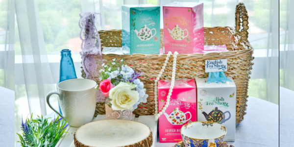 Delight your Senses with the Loving Care Goodness of English Tea Shop